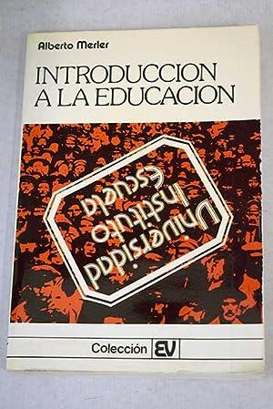 Introducción a la educación: Merler, Alberto