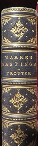 Warren Hastings: A Biography