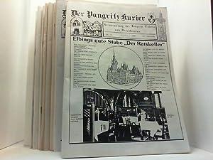 Heimatzeitung der Pangritz Kolonie und Freundeskreis. 24 Hefte zusammen.: Der Pangritz Kurier,