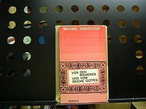 Bild des Verkäufers für Von den Manieren und vom Reiche Gottes zum Verkauf von Wimbauer Buchversand