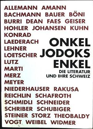 Onkel Jodoks Enkel : die Literatur und: Bussmann, Rudolf (Hrsg.):