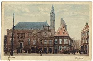 783,Haarlem Stadthuis COLOR 1930 Holland
