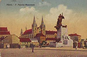 6966,Prag Praha Pal. Monument COLOR Feldpost