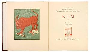 Kim. Traduit par Louis Fabulet et Ch.: SCHMIED, François-Louis (illustrator);