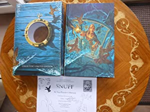 Snuff: A Discworld Novel MINT DOUBLE SIGNED: Terry Pratchett