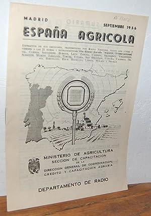 ESPAÑA AGRÍCOLA: Las podas en verde de: TOMÁS DE LA