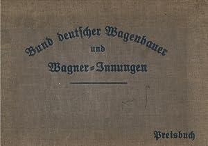 Deutscher Wagen- und Automobilbau. Katalog mit Preisliste. Jubiläums-Ausgabe. [Titel auf Vorblatt:]...