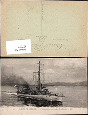 337697,Schiff Kriegsschiff Marine Marine de Guerre Mousqueton