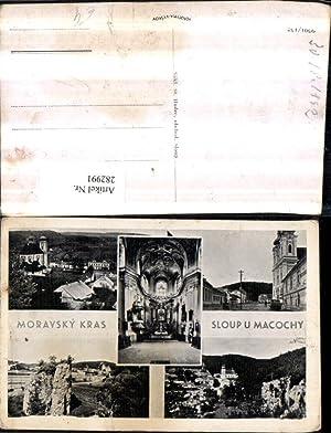 282991,Moravsky Kras Mährischer Krast Sloup u Macochy