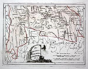 "Der Provinz Salamanca südlicher Theil"" - Spanien Spain Portugal Salamanca Mogarraz Salamantica ..."