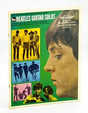 New Beatles Guitar Solos: Pacific Popular No.: Beatles, The; Lennon,