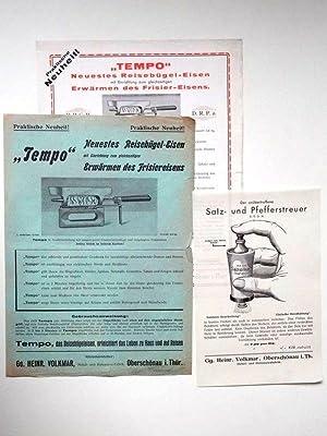 Preisliste um 1930: Gg. Heinr. Volkmar / Oberschönau i. Thür. Metall- und Holzwarenfabrik