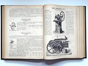 Der practische Maschinen-Constructeur. 11. Jahrgang 1878 Heft 1-24: Uhland, Wilhelm Heinrich
