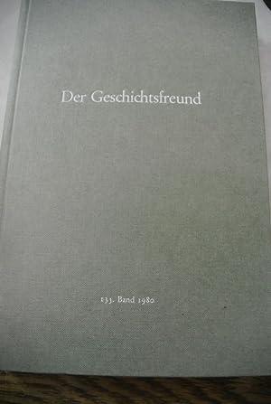 Der Geschichtsfreund. Mitteilungen des Historischen Vereins der: Carlen, Louis,