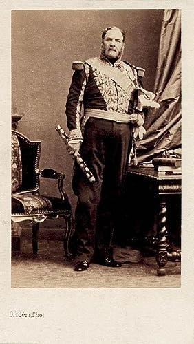 Carte de visite Portrait of the French: Disderi
