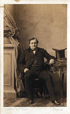Rare Carte de visite Portrait of French: Disderi