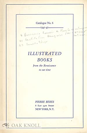 ILLUSTRATED BOOKS FROM THE 16TH TO THE