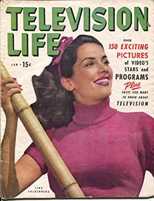 Television Life #1 1/1949-Atlas-1st issue-Jinx Falkenburg-Amos and Andy-VG