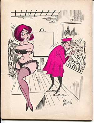 French Cartoons and Cuties 6/1965-Shirley Eaton-cheesecake-Wenzel-Severin-FN-