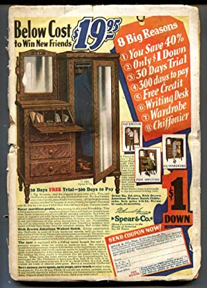 War Stories Pulp March 14 1929- WWI Rudolph Belarski cover