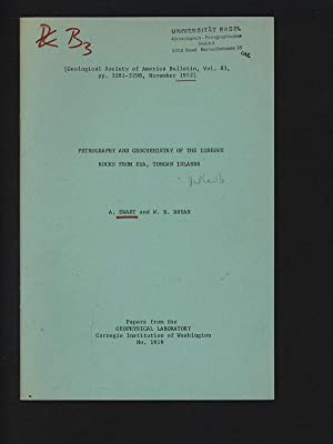 PETROGRAPHY AND GEOCHEMISTRY OF THE IGNEOUS ROCKS: EWART, A.: