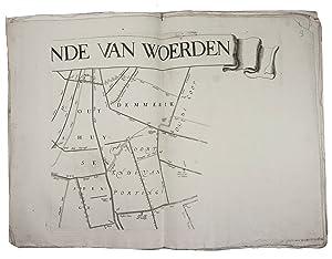 T hooghe heymraedtschap vanden lande van Woerden.[Amsterdam,: MAP]. [VINGBOONS, Johannes,