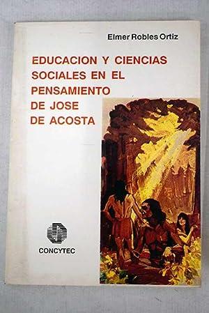 La educación y las ciencias sociales en: Robles Ortiz, Elmer