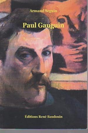 Paul gauguin,: SEGUIN Armand,