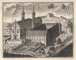 """TA., Kloster, """"Conventus Uttenwilanus Ord. Erem. S. Augustini in Suevia"""".: Uttenweiler/b. ..."""