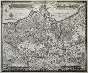 "Kst.- Karte, v. A. Goos n. N. I. Piscator (= C.J. Visscher ), ""Tabula Electoratus ..."