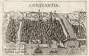 """Gesamtans. (Aufsicht), """"Constantia"""".: Konstanz/Bodensee:"""