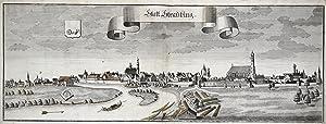 """Gesamtans., mit der Donau, """"Statt Straubing"""".: Straubing:"""