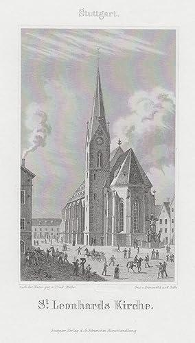 TA., Kirchen, St. Leonhards Kirche.: Stuttgart: