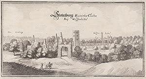 Teilansicht, Ruine der Steterburg.: Wolfenbüttel: Steterburg: