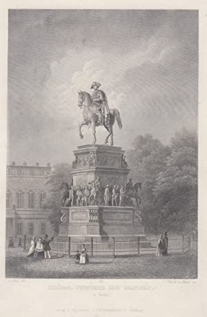 Denkmal Friedrich des Grossen in Berlin.: Berlin - Denkmäler: Friedrich Der Grosse: