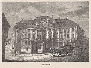 Teilansicht, Erbdrostenhof.: Münster:
