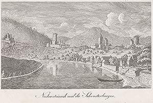 Gesamtans., m. d. 4 Burgen.: Neckarsteinach: