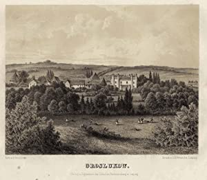 "Blick auf das Herrenhaus, ""Groslukow"".: Grossen Luckow/b. Teterow:"