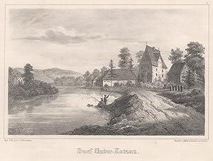 "Gesamtansicht ""Dorf- Unter-Kotzau."".: Hof/Saale: Unterkotzau:"
