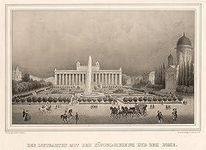 Der Lustgarten mit dem königl. Museum und dem Dome.: Berlin - Lustgarten:
