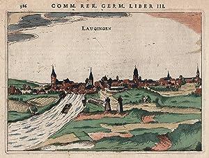 Gesamtansicht: Lauingen/Donau: