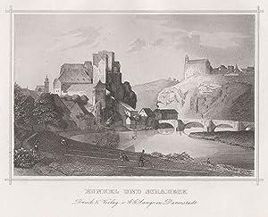 Gesamtans., m. Lahn u. Burg Schadeck.: Runkel: