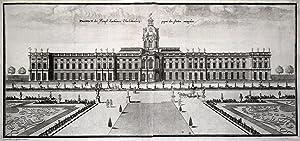 Prospect des Königl. Lusthauses Charlottenburg gegen den Garten anzusehen.: Berlin - ...