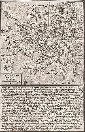 Bataille de Crevelt.: Krefeld: Schlacht 1758: