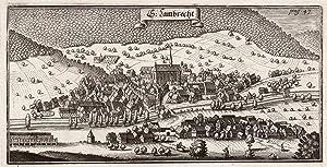 """Gesamtans., m. Kloster, """"St. Lambrecht"""".: Lambrecht/Pfalz:"""