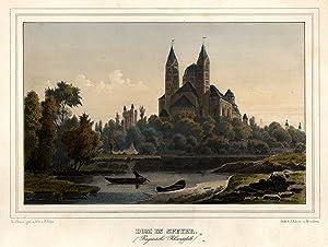 Teilansicht, Domansicht v. Altrh., i. Vgr. Kahn.: Speyer: