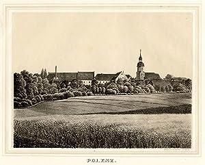 Gesamtans., Blick auf das Rittergut.: Polenz: