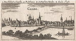 Gesamtans., darüber Erklärungen v. 1 - 4.: Calbe/Saale: