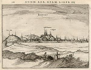 "Gesamtansicht, ""Erdfurt"".: Erfurt:"