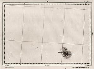 """Stahlstich-Karte, v. Brose n. Zirbeck, """"Helgoland"""".: Helgoland:"""